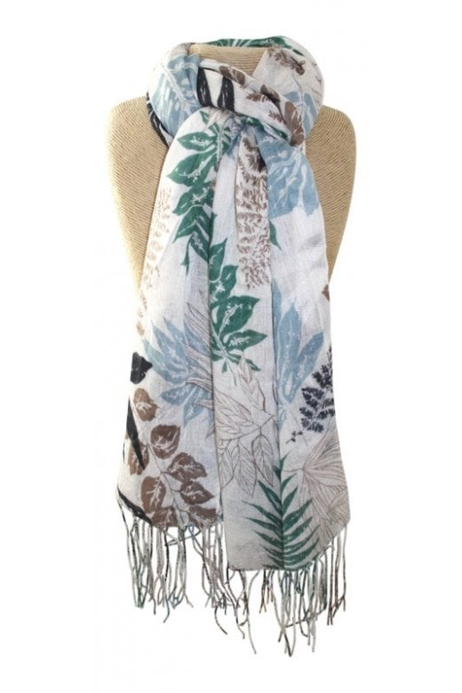 LUA SUMMER LEAVES SCARF