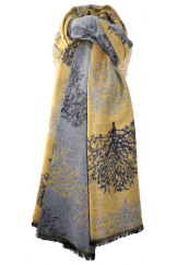 TERRY TREES SCARF