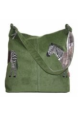 ZEBRA APPL SHOULDER BAG
