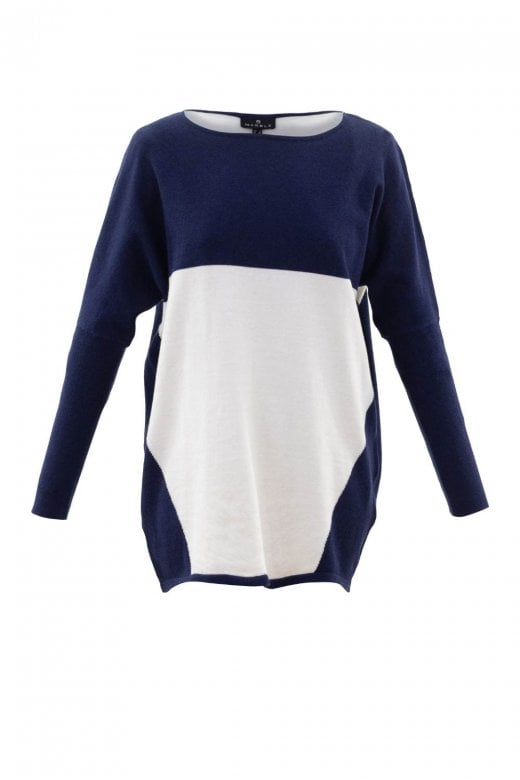 MARBLE CLOTHING COLOUR BLOCK JUMPER