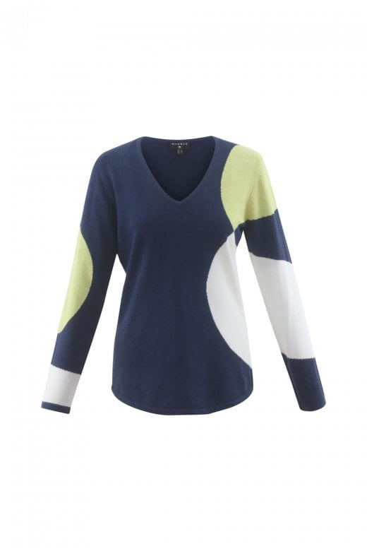 MARBLE CLOTHING COLOUR CIRCLES SWEATER
