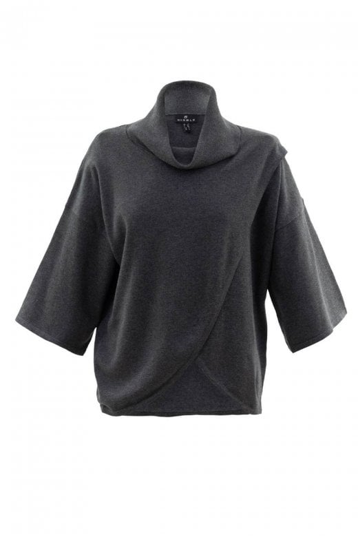 MARBLE CLOTHING CROSSOVER LAYERED JUMPER