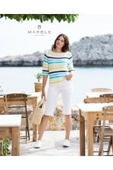 MULTICOLOUR STRIPE BOAT NECK SWEATER