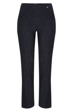 MARIE JACQUARD STRETCH TROUSER