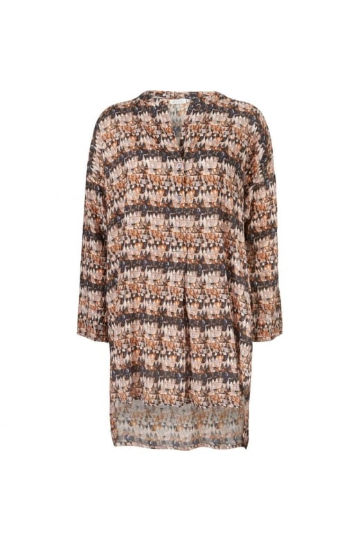 Masai Clothing GOA LONG SLEEVED OVERSIZED TUNIC