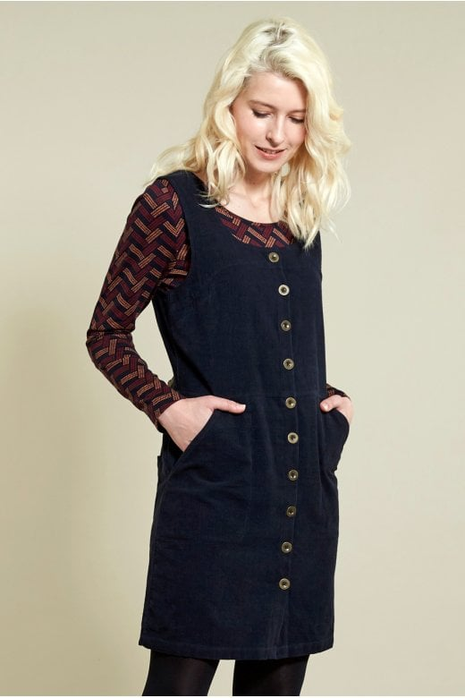 Nomads Clothing BUTTON FRONT PINAFORE