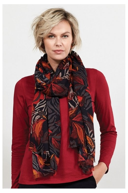 Nomads Clothing DANCING LEAVES OVERSIZED SCARF