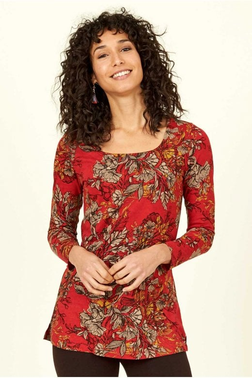 Nomads Clothing FLORAL LAYER TOP