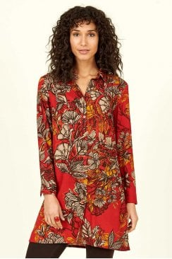FLORAL TUNIC SHIRT