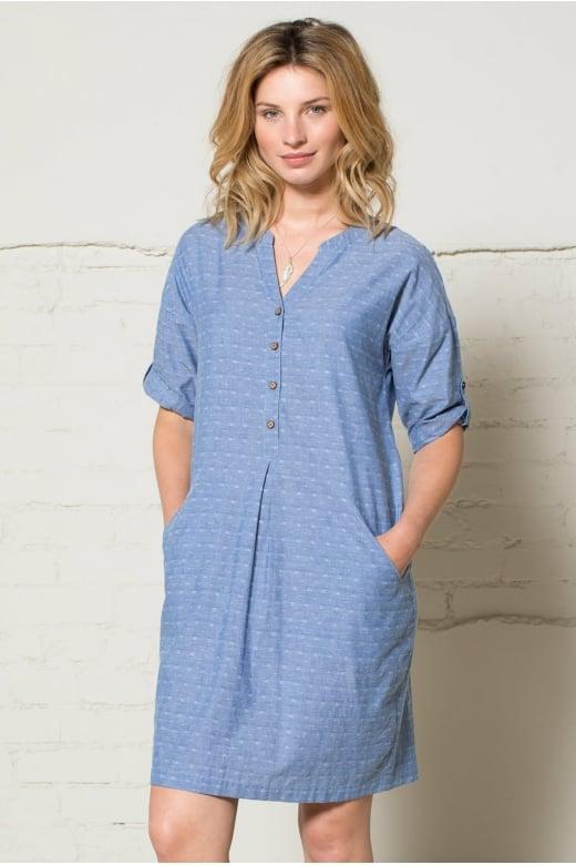 Nomads Clothing JAQUARD SHIRT DRESS