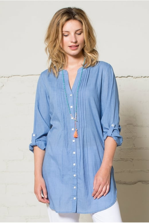 Nomads Clothing LONG TUNIC SHIRT