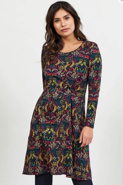 Nomads Clothing ORGANIC COTTON SIDE KNOT DRESS