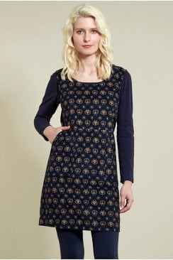 PINAFORE TUNIC DRESS