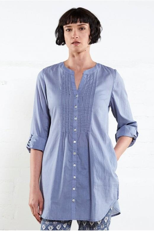 Nomads Clothing PLAIN LONG SHIRT