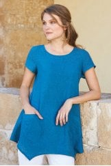 PLAIN POINT HEM TUNIC