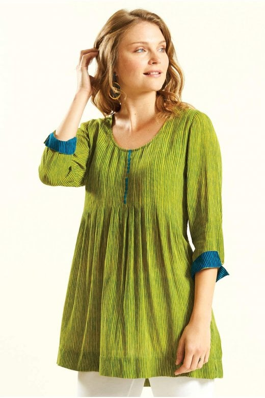 Nomads Clothing PLEAT DETAIL TUNIC