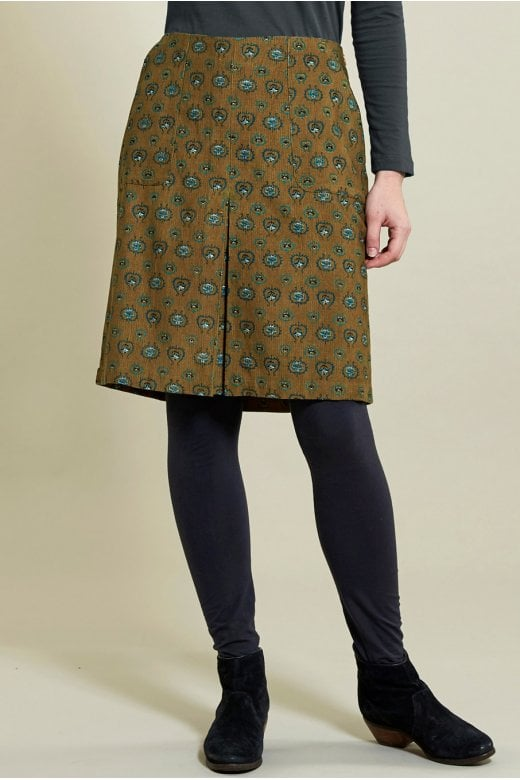 Nomads Clothing PLEAT FRONT SKIRT