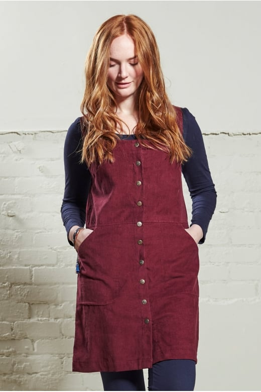 Nomads Clothing POPPER FRONT PINAFORE