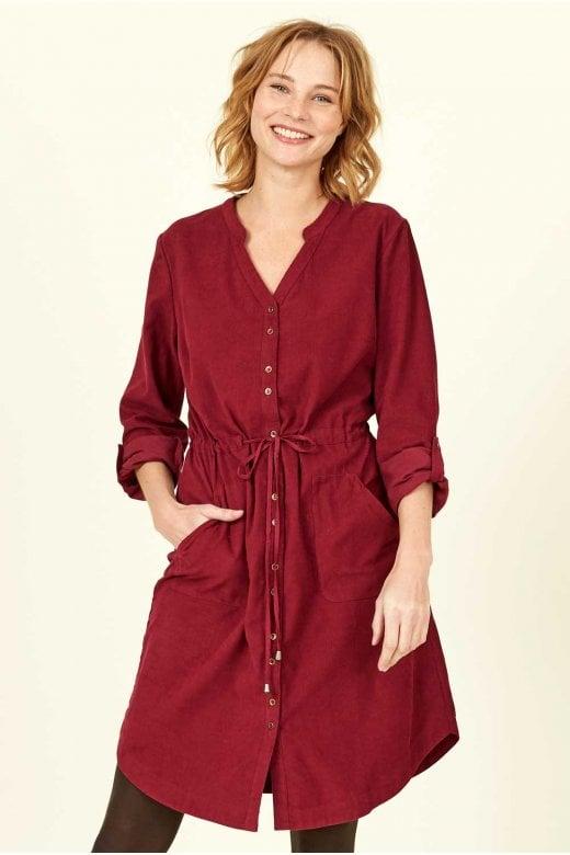 Nomads Clothing RUCHE WAIST DRESS