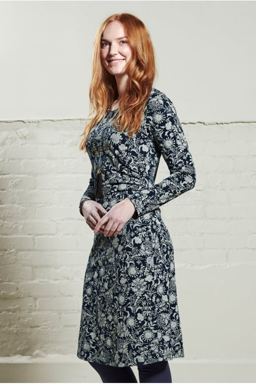Nomads Clothing SIDE ROUCHED DRESS
