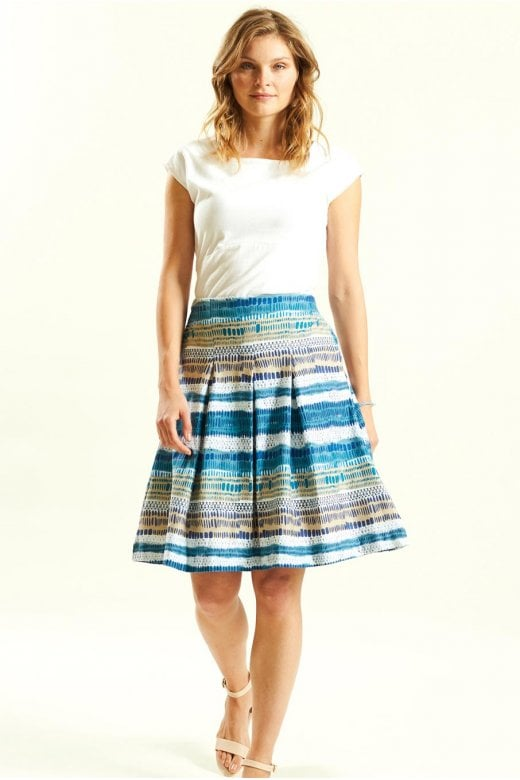 Nomads Clothing STRIPE JERSEY SKIRT