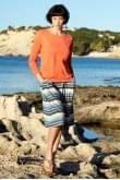 Nomads Clothing STRIPED SKIRT