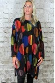OUT OF XILE CIRCLES WIDE TUNIC DRESS