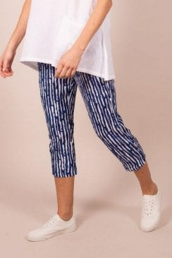 Capri Clothing FLORA STRIPE TROUSER