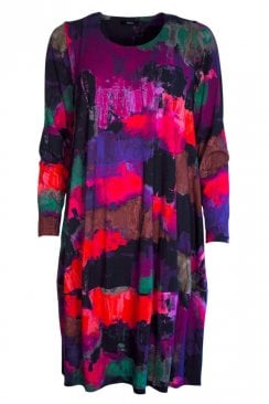 BIMSE MULTI PRINT DRESS