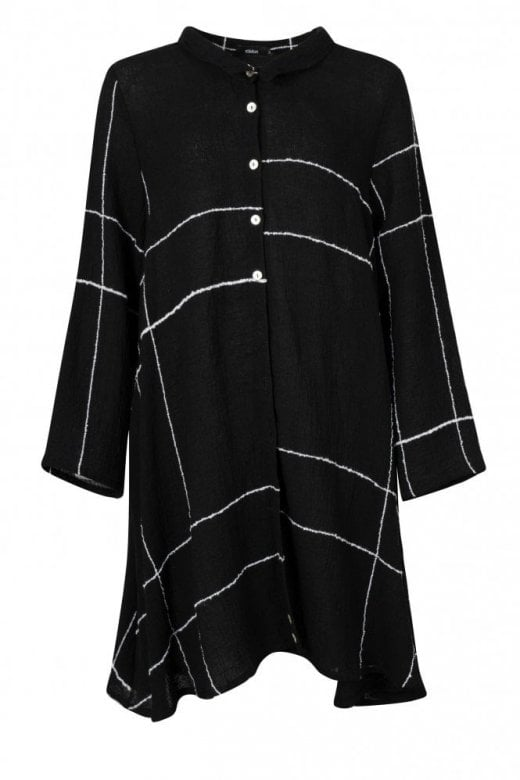 Ralston KAMAL  BLACK  CHECK DRESS