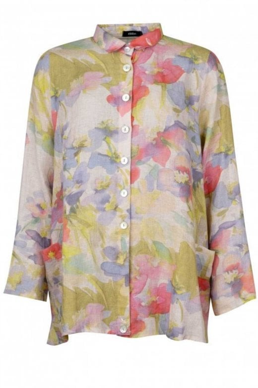 Ralston LILAC FLORAL WALLY TUNIC