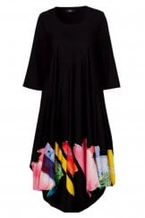 MULTI COLOURED UTAS DRESS