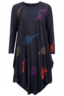 MULTI LEAF UTAS DRESS