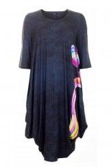 UTAS RIBBON PRINT DRESS