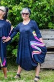 Ralston UTAS RIBBON PRINT DRESS