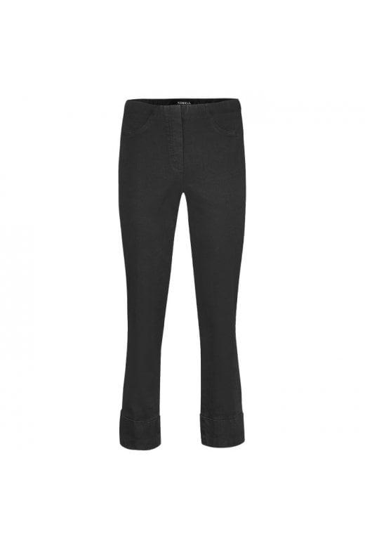 Robell Trousers BELLA 7/8 CROP JEAN