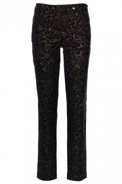 BELLA ANIMAL PRINT TROUSER