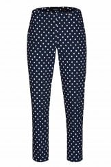 BELLA POLKA DOT NAVY TROUSER