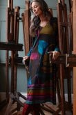 Sahara Clothing ABSTRACT PETAL PRINT DRESS