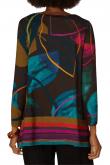 Sahara Clothing ABSTRACT PETAL PRINT TUNIC