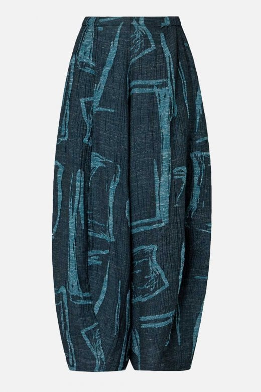 Sahara Clothing ABSTRACT PRINT TWEED TROUSER