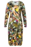 Sahara Clothing ARTIST CANVAS PANEL DRESS