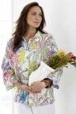 Sahara Clothing CHALK JUNGLE LIINEN SHIRT