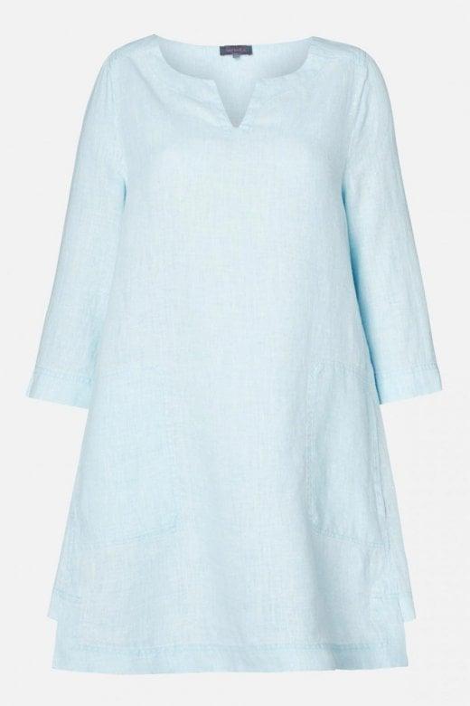 Sahara Clothing CHALK LINEN TUNIC