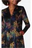 Sahara Clothing COLOURFUL SPOT JERSEY DRESS