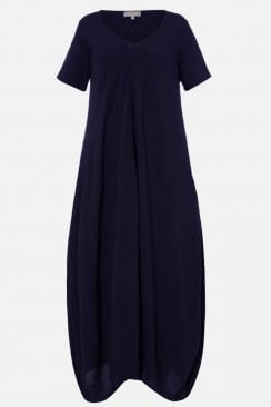 CREPE BUBBLE DRESS