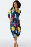 Sahara Clothing FLORAL STENCIL PRINT DRESS