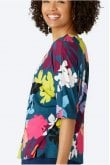Sahara Clothing FLORAL STENCIL PRINT TOP