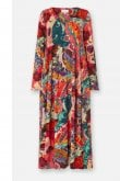 Sahara Clothing FOLK PAISLEY BUBBLE DRESS