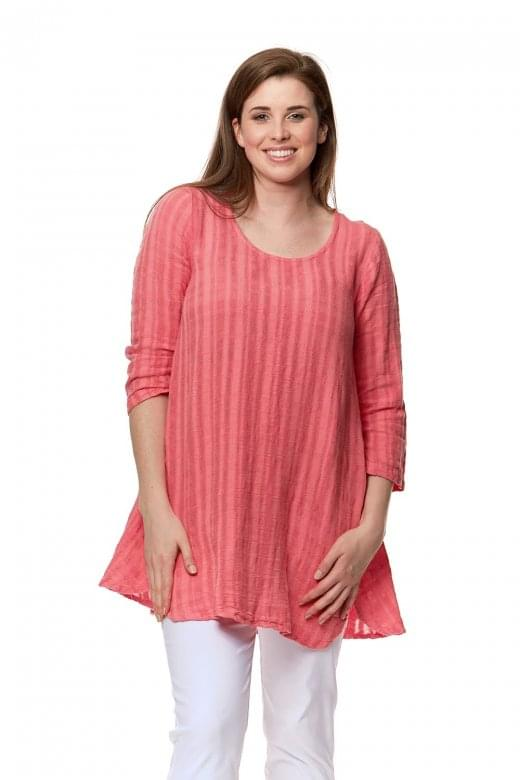 Sahara Clothing GAUZY LINEN MIX TUNIC